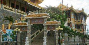 Tổ đình Thiên Thai và thắng cảnh Dinh Cố