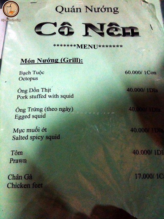 menu1- quan co nen