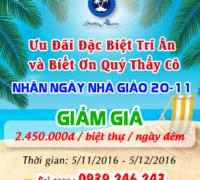 Chương Trình Khuyến Mãi Nhân Ngày Nhà Giáo Việt Nam