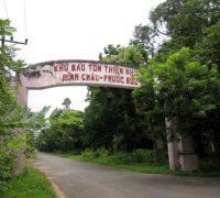 Loi vao khu bao ton thien nhien Rung nguyen sinh Binh Chau - Phuoc Buu