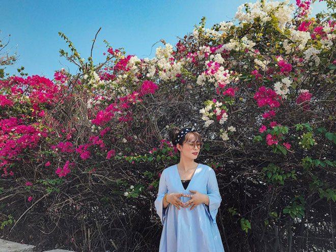 Xinh dep ben duong hoa giay