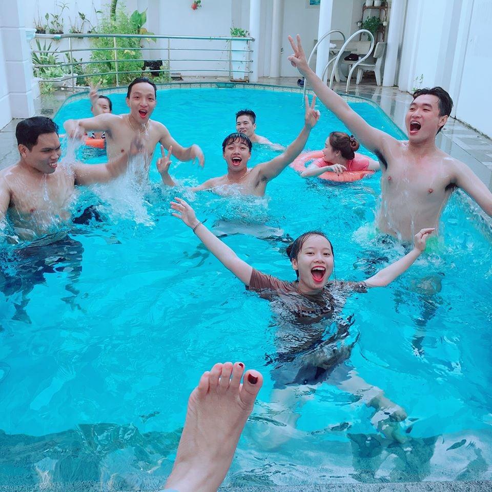 Ho boi mat me cua biet thu Vung Tau Ali6B - biệt thự Vũng Tàu có hồ bơi