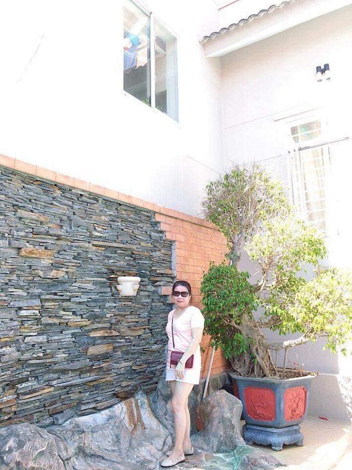 Hình ảnh gia đình chị Kim Tuyến vui xuân tại biệt thự Vũng Tàu Ali3B 2