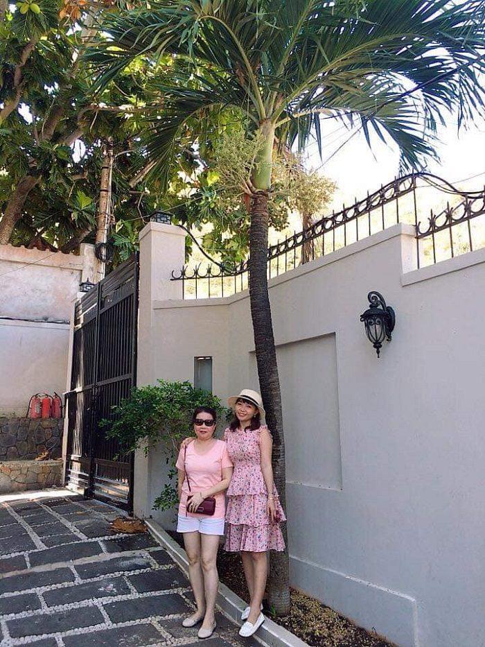 Hình ảnh gia đình chị Kim Tuyến vui xuân tại biệt thự Vũng Tàu Ali3B 9