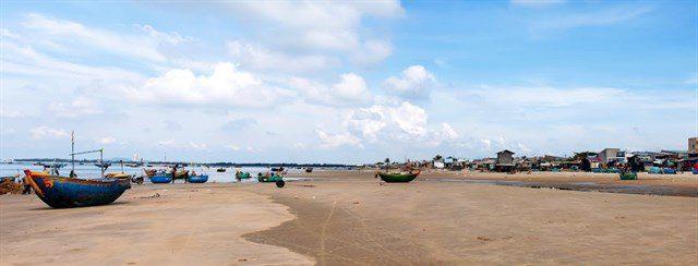 Hình ảnh Làng chài Long Hải nhộn nhịp mỗi buổi sớm thuyền về 1