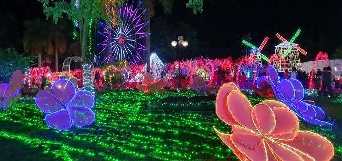 Hình ảnh đêm hội ánh sáng tại Vũng Tàu chào đón Noel 2019